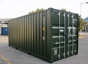 Near new shipping container 20Ft green Brisbane City Brisbane North West Preview