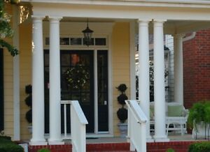 Tuscan Solid Wood Columns Made To Order
