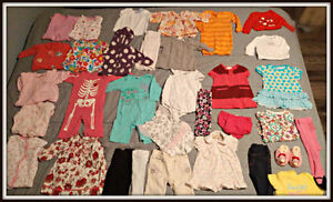 Bundle of Baby Girl Clothing 3 to 6 months