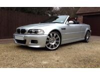 BMW M3 E46 CONVERTIBLE 2006 06 SMG FULLY LOADED P/X M5 M6 M3 DCT C63 E63 CLS55 E55 A45 AMG RS4 RS6