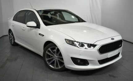 2015 Ford Falcon FG X XR6 White 6 Speed Sports Automatic Sedan Elizabeth Playford Area Preview