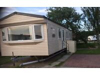 Double Glazed Windows Central Heated Caravan for rent
