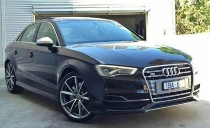 2014 Audi S3 8V MY15 S tronic quattro Black 6 Speed Sports Automatic Dual Clutch Sedan Berwick Casey Area Preview