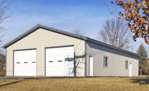 BRAND NEW STEEL BUILDINGS