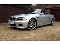 M3 E46 Convertible SMG 2006 fully loaded P/x M5 M6 M3 DCT RS4 RS6 RS3 A45 C63 E63 CLS55 E55