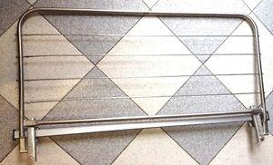 Stendibiancheria stendi biancheria inox balcone ringhiera rotazione 3 posizioni ebay - Stendibiancheria da finestra ...