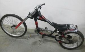 Schwinn Sting Ray Bicycle Orange County Choppers OCC Black & Red