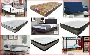BEDS and MATTRESS SALE - SLEEPVILLE CANADA-FREE DELIVERY