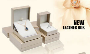 Wholesale Premium Leatherette Jewelry Gift Boxes Zakka Canada