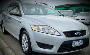 2010 Ford Mondeo MC LX PwrShift TDCi Silver 6 Speed Sports Automatic Dual Clutch Wagon
