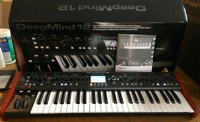 Behringer Deepmind 12 49-Key Polyphonic Analog Synthesizer