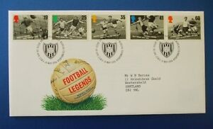 1996 FOOTBALL LEGENDS FIRST DAY COVER SIGNED BY JOHN BARNWELL [ NOTTS FOREST ]