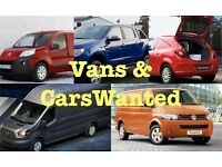 Cars and Vans Wanted at The Yard Nutts Corner