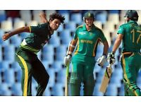 Tickets Pakistan vs South Africa 100 £ each 6 Tickets