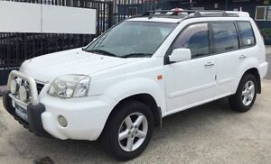 2002 Nissan X-Trail T30 TI AUTOMATIC White 4 Speed Automatic Wagon Underwood Logan Area Preview