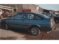 WANTED Toyota Corolla 1.6 GT COUPE / GTI