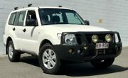 2008 Mitsubishi Pajero NS GLX White 5 Speed Sports Automatic Wagon Ashmore Gold Coast City Preview