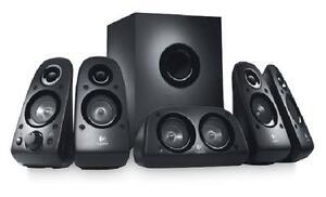 Logitech Z506 Surround Sound Speakers - RECERTIFIED 5.1 Speaker