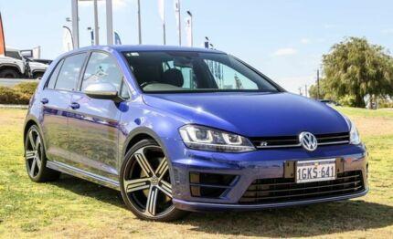 2015 Volkswagen Golf VII MY15 R DSG 4MOTION Lapiz Blue 6 Speed Sports Automatic Dual Clutch