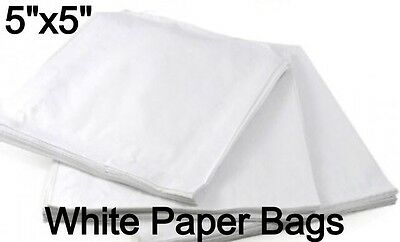 SULPHITE WHITE PAPER BAGS FRUIT SWEETS JEWELLERY 5
