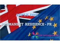 Apply for Permanent Residence PR UK, Residence Card Naturalization, EU Nationals get FREE Assessment