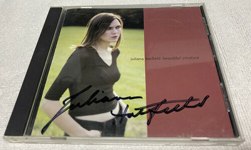 Juliana Hatfield Beautiful Creature Signed CD Alternative Rock Autographed