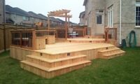 IKIA Group Deck and Fence