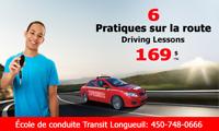 Cours de conduite à Longueuil - 450-748-0666