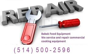 Service and Repair commercial kitchen Equipment.