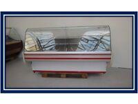£750+VAT Serve Over Counter Display Fridge Meat Chiller 200cm (6.6feet) ID:T2008