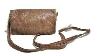 REVOLUTION BY EDWIN Crossbody Bag Brown Since 1958 USA