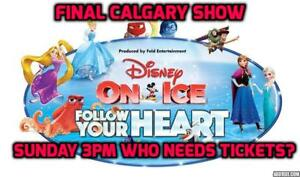 Last Event>>>Disney On Ice: Follow Your Heart SUN Nov 19 3:00PM