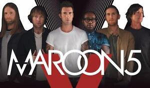 Maroon 5 Tickets - Billets Maroon 5 - BEST SEATS - BEST PRICES - 200% GUARANTEE