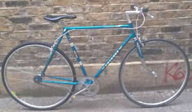 Single speed bike PEUGEOT frame 21inch built for order, NEW TYRES, DICTA 18T, CHAIN KMC, BAR, GRIPS