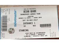 Ariana Grande Ticket, Dublin 20th May, Standing - £55