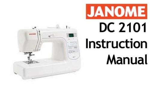 janome instruction manual free download