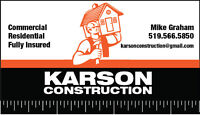 Need construction/handyman work completed ?