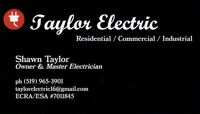 Electrician / Electrical Services Call Taylor Electric