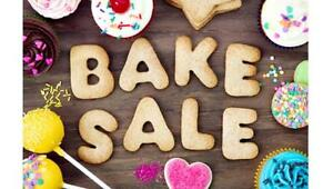 Missions trip bake sale and garage sale