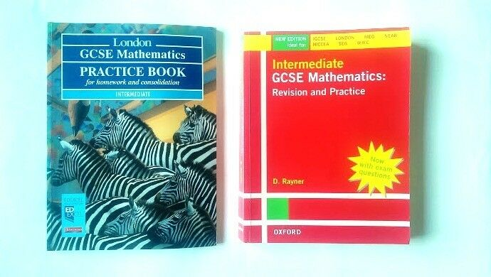 MATHS GCSE Intermediate Revision & Practice Books Exam Board Approved