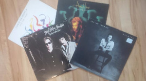 Four classic Vinyl LP Records, all for one low price