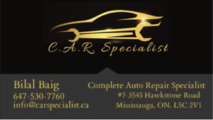 Car repair services *OPEN ON SUNDAY*