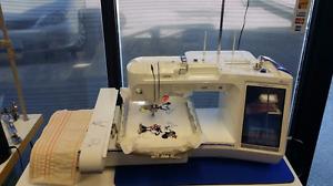 Brother Quattro embroidery sewing machine with lots of updates