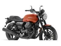 Moto Guzzi V7 IV 850cc Stone 2021 Brand New in Arancio / Orange
