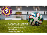 July & August Football Trials for Two Football Teams - Amateur Decent Standard Very Social Club
