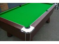 Suprem Winner 7ft - World Championship Pool Table Strachan 6811 Cloth Mint!! LOOK!!