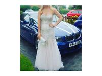 Prom dress ( champagne gold )