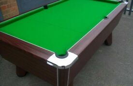 World Championship Supreme Winner Pool Table - New Recover - Logo Cloth Option - Del. Available LOOK