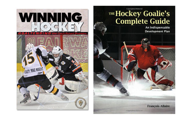 Hockey: Goalkeeping Instructional Book and DVD - Free Shipping