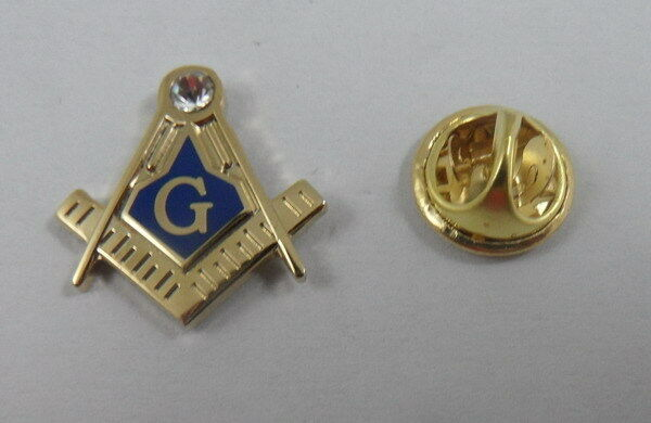 Square and Compass MASTER MASON Lapel Pin Masonic - Large